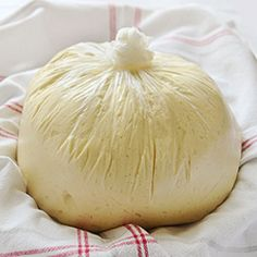 Crazy Dough for Everything (Recipe makes 4 pounds of dough that can be kept in fridge for 7 days - use for pizza, focaccia, panzerotti, rolls, buns, scones, crescent rolls...)