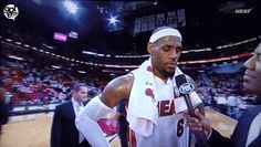 The Funniest Sports GIFs Of 2012  LeBron got photobombed by Chris Bosh
