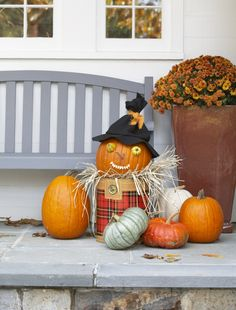 @kLidbecks Pumpkin decorating ideas http://thedailybasics.com/pumpkin-decorating-ideas/
