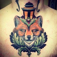 Fox chest tat