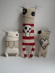 `Love to make toys from recycled materials. It'a a big fun and develop the child imagination:)  http://www.thinkgreenfootsteps.com
