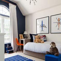 One Navy wall-  Logan's room