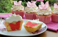 Hidden shape cupcakes how to