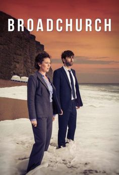 Broadchurch a new BBC show that is now being shown in BBC America. Very gripping murder mystery