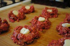 Stuffed MozzarellaMeatballs