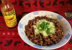 ", Spicy Black-Eyed Pea ""Chili"" is a zesty alternative to hoppin&#39..."