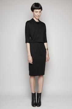 Totokaelo - Jil Sander - Fine Knit Dress - Black