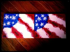 Hand painted on canvas. Memorial Day 2013.