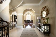 interior design, paint color, minneapoli, dream homes, interiors, exercise rooms, foyer design, benjamin moore, entryway