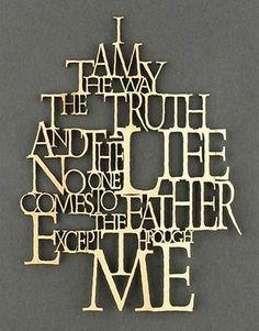 #Scripture                                       John 14:6