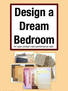 Design a Dream Bedroom: Open Ended Performance Task Math Project (Grades 3-5) $  In this task students draw a blueprint of their dream space. They choose flooring, paint colors, textile patterns and accessories. They calculate the cost of the entire project and finish by writing a letter to their parents explaining their choices. It is 6 problems in one gigantic performance task that includes reading, math, and writing.
