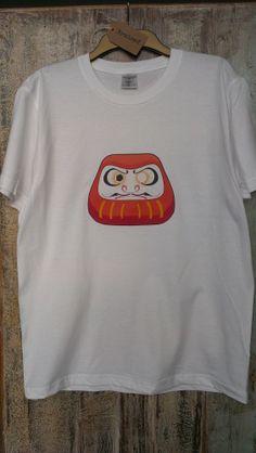 Japanese Daruma T-shirt! #daruma #tshirt #japan #clothing