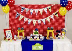 amanda parti, monster parti, cookie monster party, cooki monster, parties, 1st birthday, monsters, 2nd birthday, parti idea