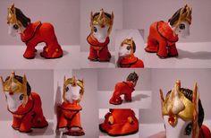 custom my little pony - queen amidala