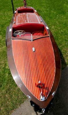 Classic Boats - 1954 19' Chris-Craft Racing Runabout