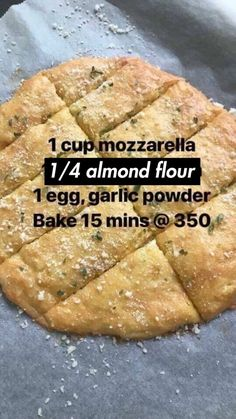 Keto garlic bread!