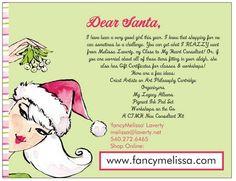 Crafter and Scrapbooker Holiday Gift Ideas www.fancymelissa.com #ctmh #christmas #wishlist santa crafts, paper craft, gift ideas, the craft, craft idea, craft gifts, holiday gifts, christma