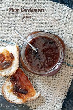 Plum and Cardamom Jam