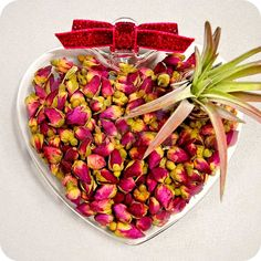 It's cheaper then roses and will last longer! Rose Heart! $40.