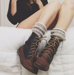 BOOTS ARE MY FAVORITE THING IN THIS WORLD! So I'd like to have these ;)