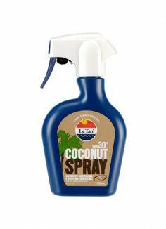 Le Tan SPF 30+ coconut spray