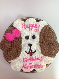 Birthday Pull Apart Cupcake Cake