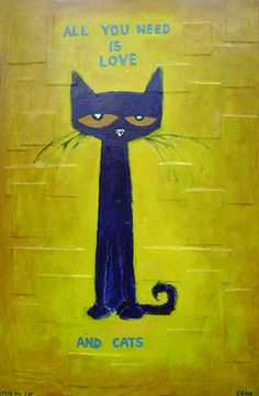 James Dean - Pete the Cat - All You Need is Love and Cats