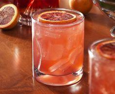 Blood Orange Fizz Cocktail