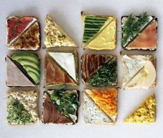 Toast Toppings & Open Faced Sandwich Recipes for Easy Appetizers and Quick Meal Ideas : theBERRY