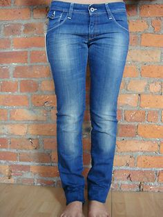Kuyichi 'Lisa' Super Blue Organic Cotton Jeans. RRP £125 now only £44.99 international shipping available