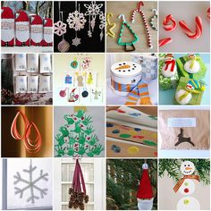 Free Christmas Craft Ideas – Children's Christmas Crafts – Green Crafts – Ornaments