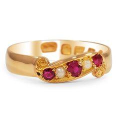 Joyas victorianas: The Luka Ring from Brilliant Earth