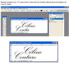 Comment faire ses propres tiquettes le blog de c line - Faire ses propres stickers muraux ...