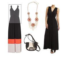 maxi dress for apple shaped women -
