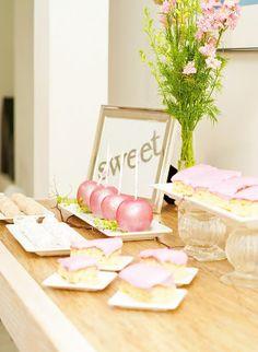 gorgeous wedding dessert buffet (MeShenee Photography)  #wedding #weddingdessert #candybuffet #dessertbuffet