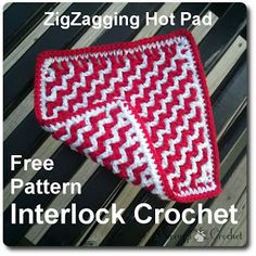 ZigZagging Hot Pad/Dishcloth « The Yarn Box