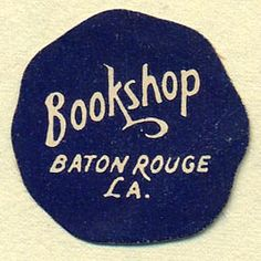 baton rouge - from gallery of book trade labels