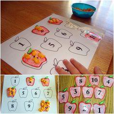 Apple preschool unit