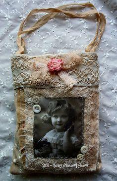 wee altered bag #sugarlumpstudios