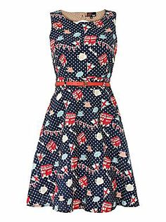 Sold. Yumi London Dress UK14 NWT. Apparently blue and navy are different despite showing the same picture, got this in blue, see my other picture. Sell for $45 + shipping or swap for same dress in UK16.