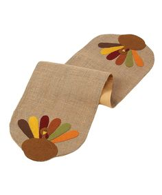 Turkey Day Large Table Runner