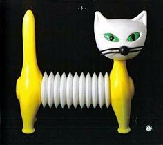 plastic cat toy