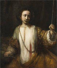 rembrandt van, vans, lucretia, 1666, minneapolis, art, minneapoli institut, museum, van rijn