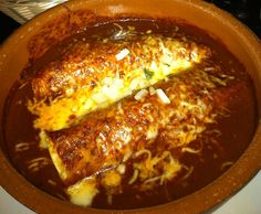 Chicken Enchiladas d