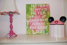 diy canvas art, canva art, canva paint, canvas paintings, letter