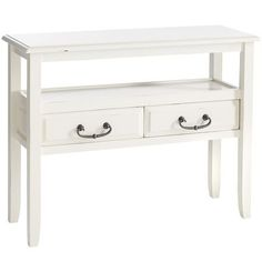 Anywhere - Console Table Antique White