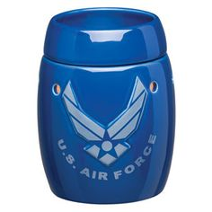 Air Force FULL_SIZE scentsy warmer, .... Like this purchase today and like my facebook fan page:    https://www.facebook.com/media/set/?set=a.10150364570080344.604384.555635343&type=3#!/pages/Ashley-Nichols-Independent-Scentsy-Consultant/297557330292599
