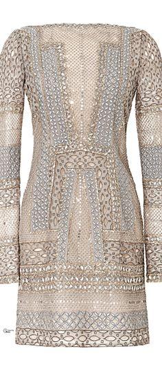 J. Mendel ● SS 2014, heavy beaded Dress