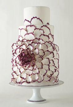 Pretty 3D wedding cake