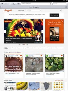 social media, student creat, snap guid, appl product, ipad stuff